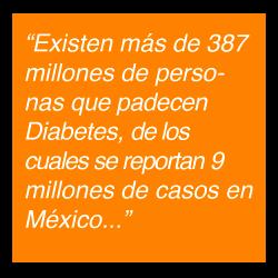Cifras de la Diabetes en México
