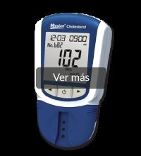 Medidor para medir los niveles de colesterol