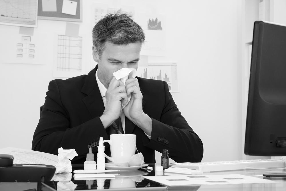 la influenza en los centros de trabajo